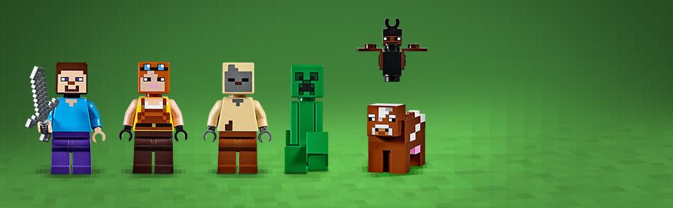 Kultovní postavy ze hry Minecraft™