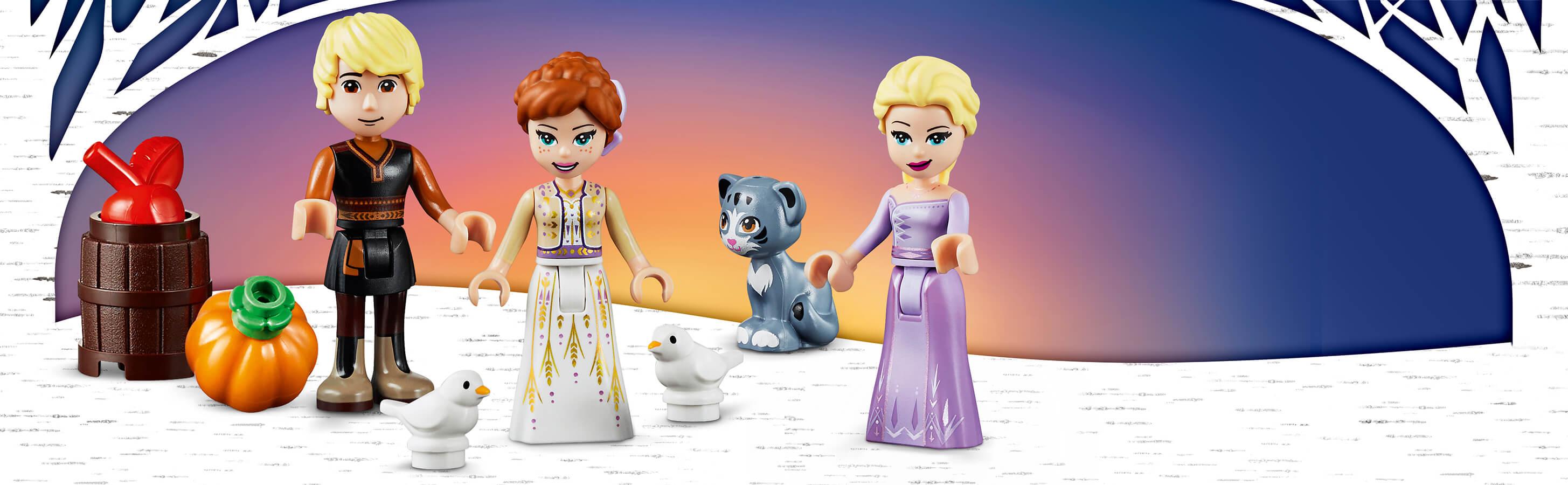 Součástí je Elsa a Anna
