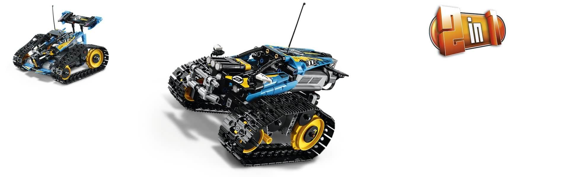 Model 2 v 1 na stavění, hraní a vystavení