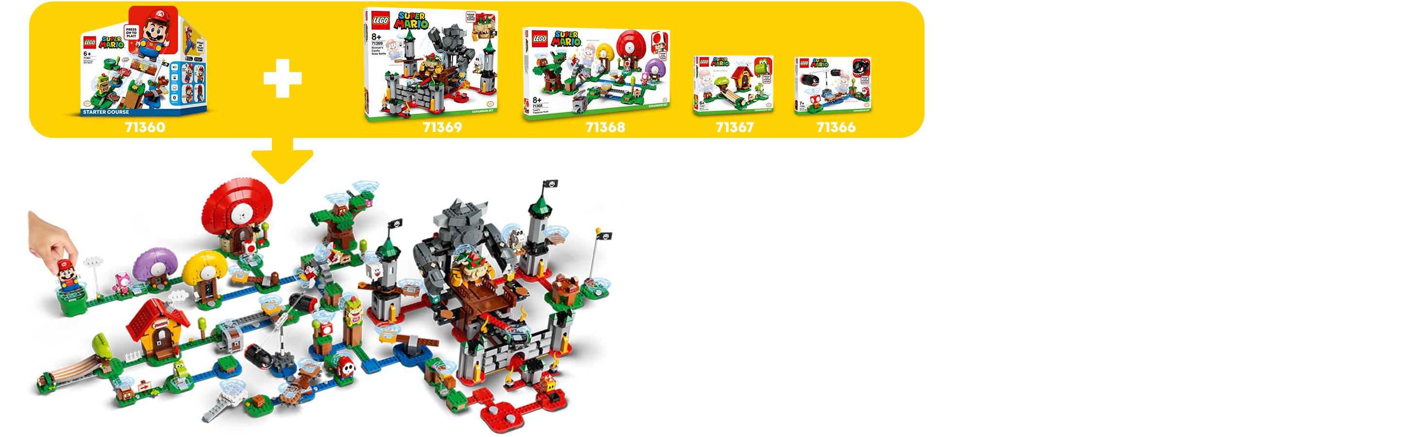 Kombinujte s dalšími sety LEGO® Super Mario™
